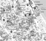 Lageplan der Dompfarrei