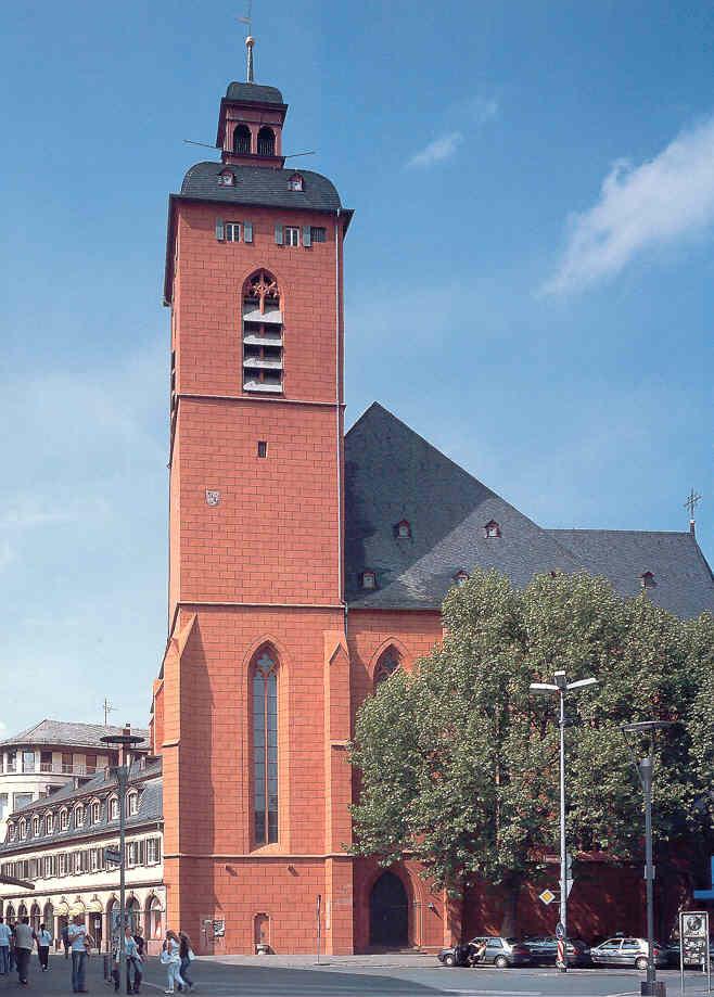 St. Quintin, Ansicht von außen